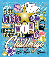 "2021 AAU ""In it to Win it"" Super Regional Challenge logo"
